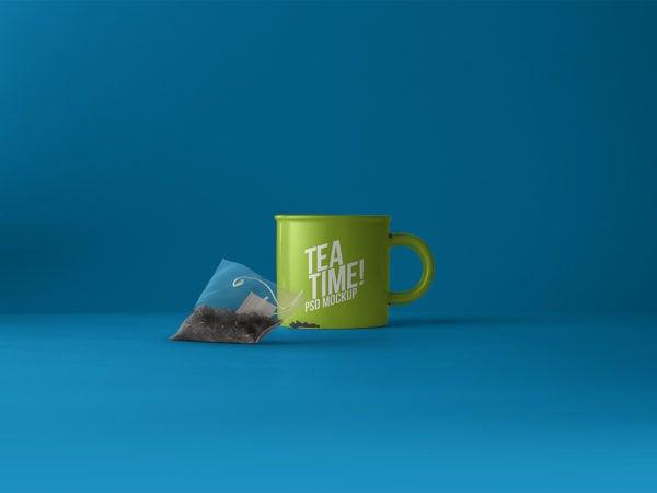 Tea Mug Mockup Free