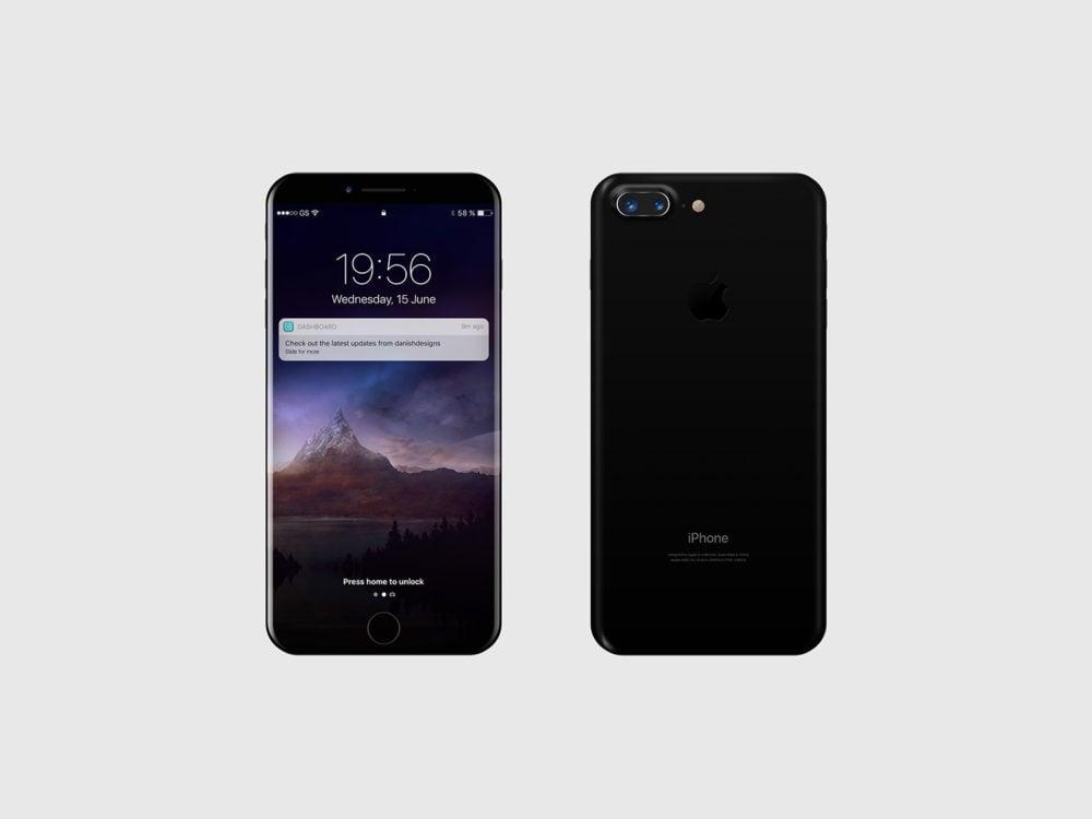 iPhone 8 Mockup Free