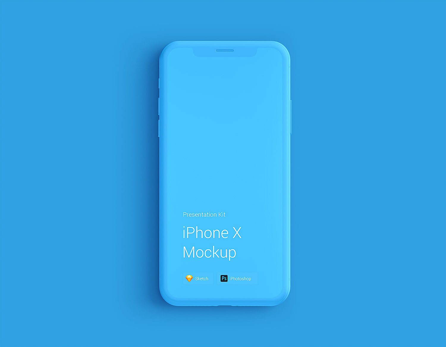 iPhone-X-Mockup-Free-Changeable-Color