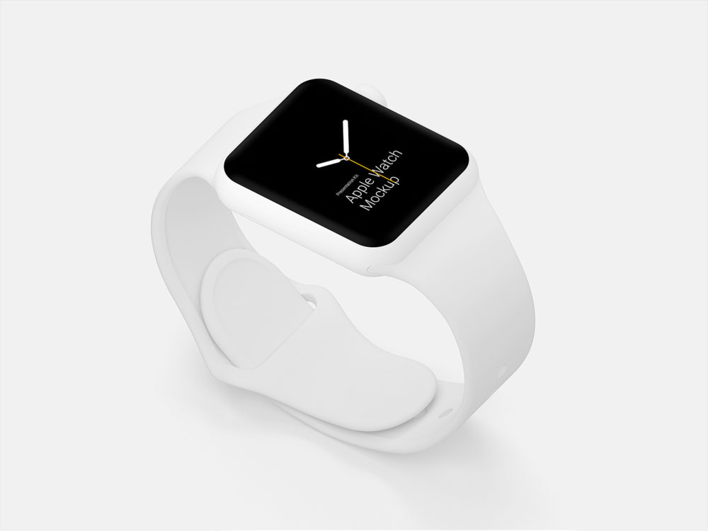 Apple Watch Mockups Free