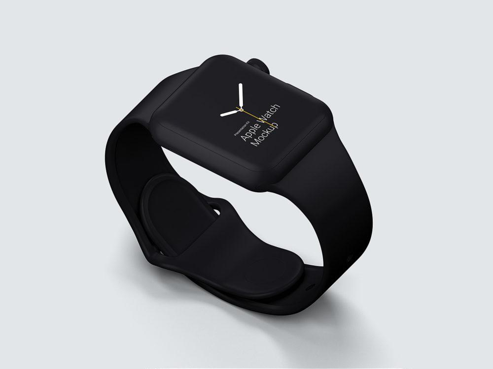 Apple Watch Mockups Free