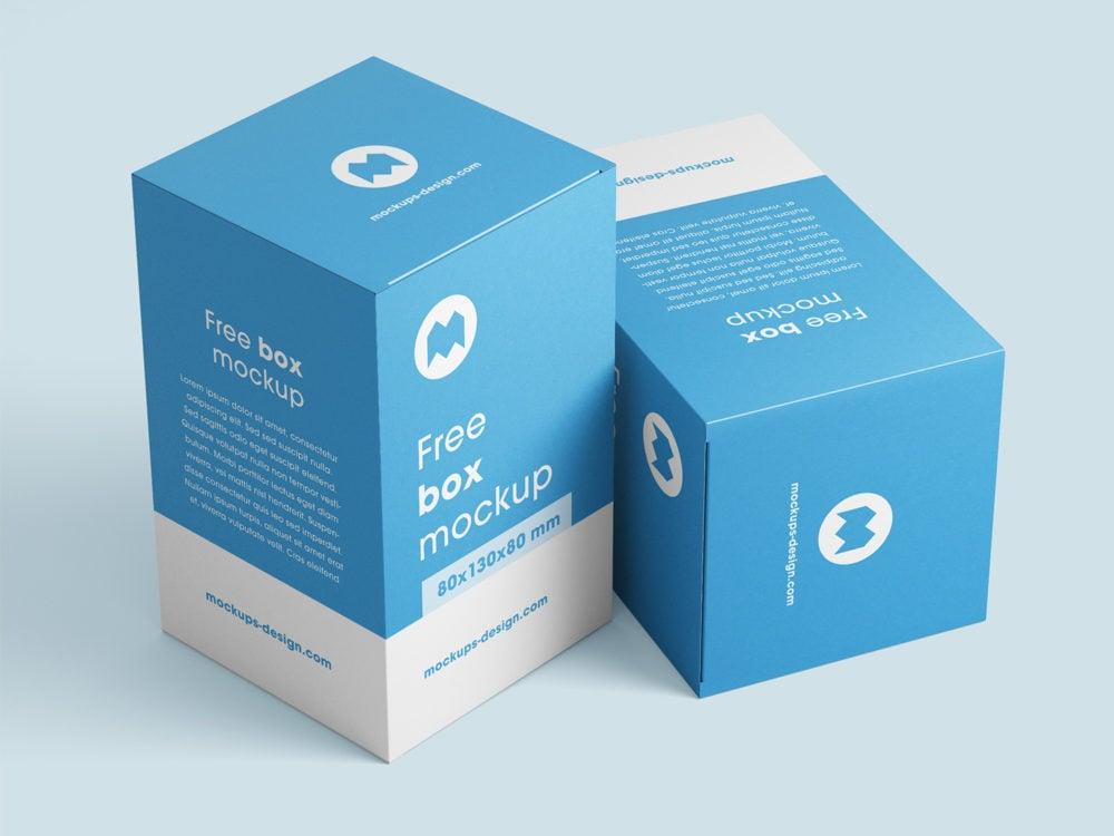 Box Mockups Free