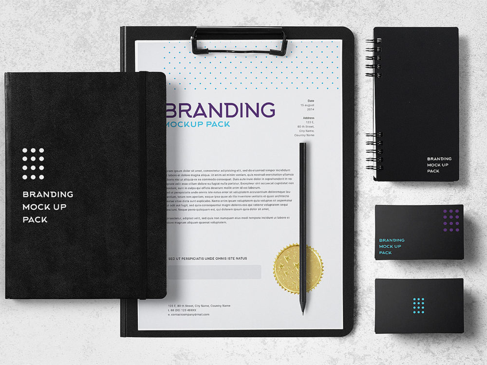 Branding Mockup Pack Free