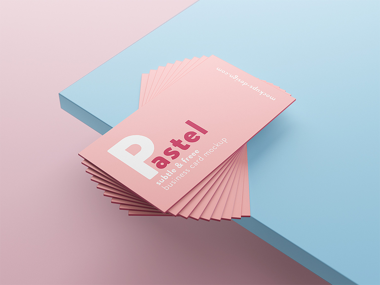 blank business card design mockup psd file free download - HD1500×1125
