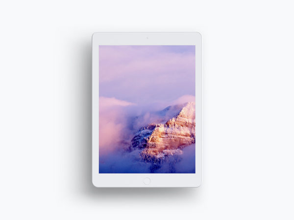 Clay iPad Mockup Free