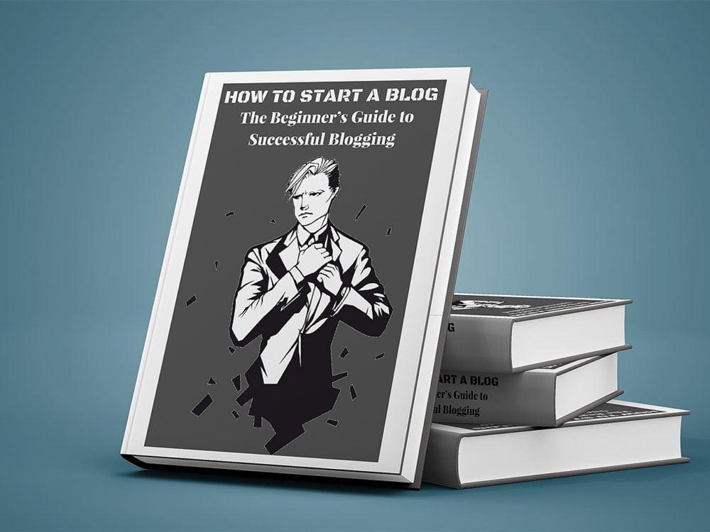 Realistic Book Mockup PSD Free
