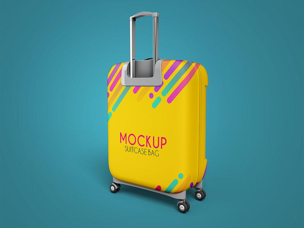 Suitcase Bag Mockups Free