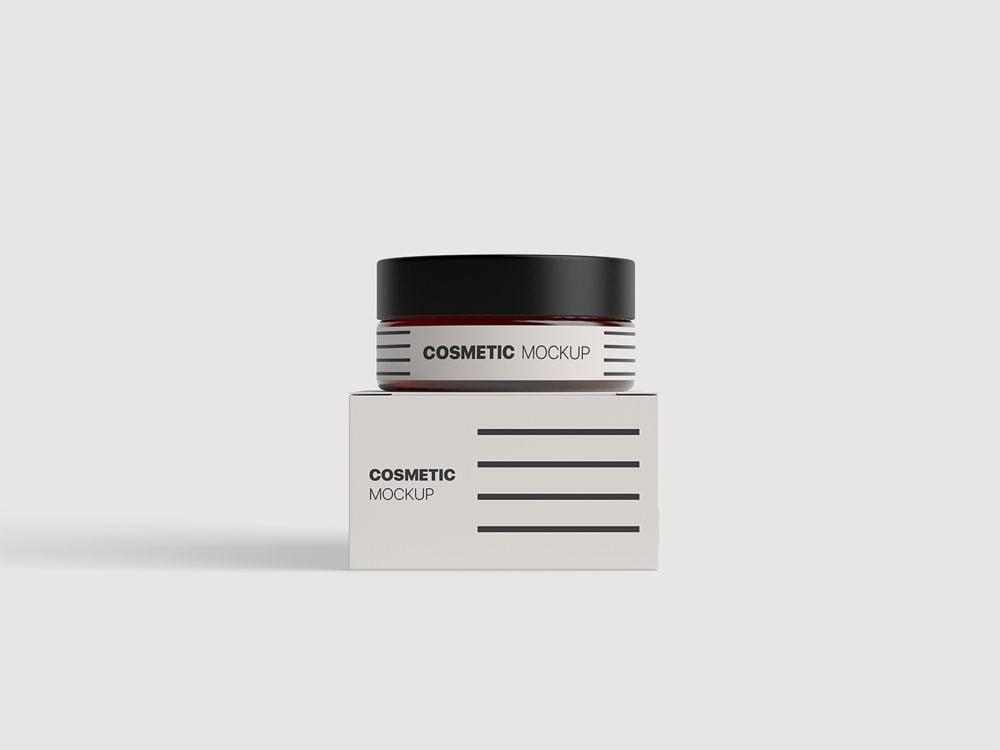 Cosmetics Packaging Mockup Free