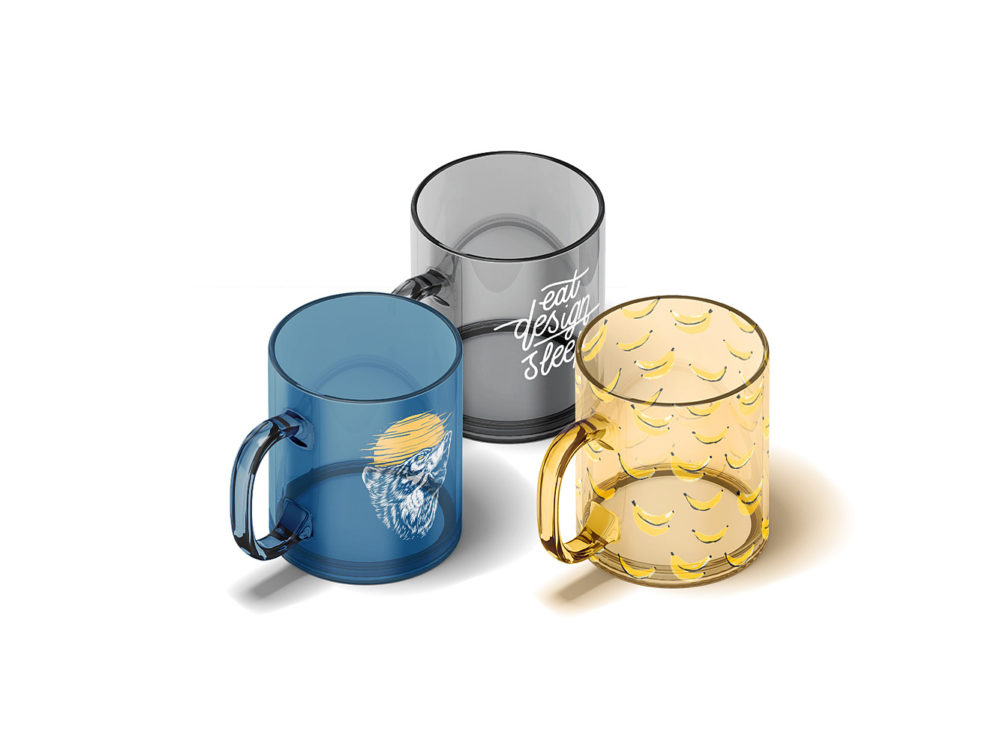 Glass Cup Animated & Static Mockups Free