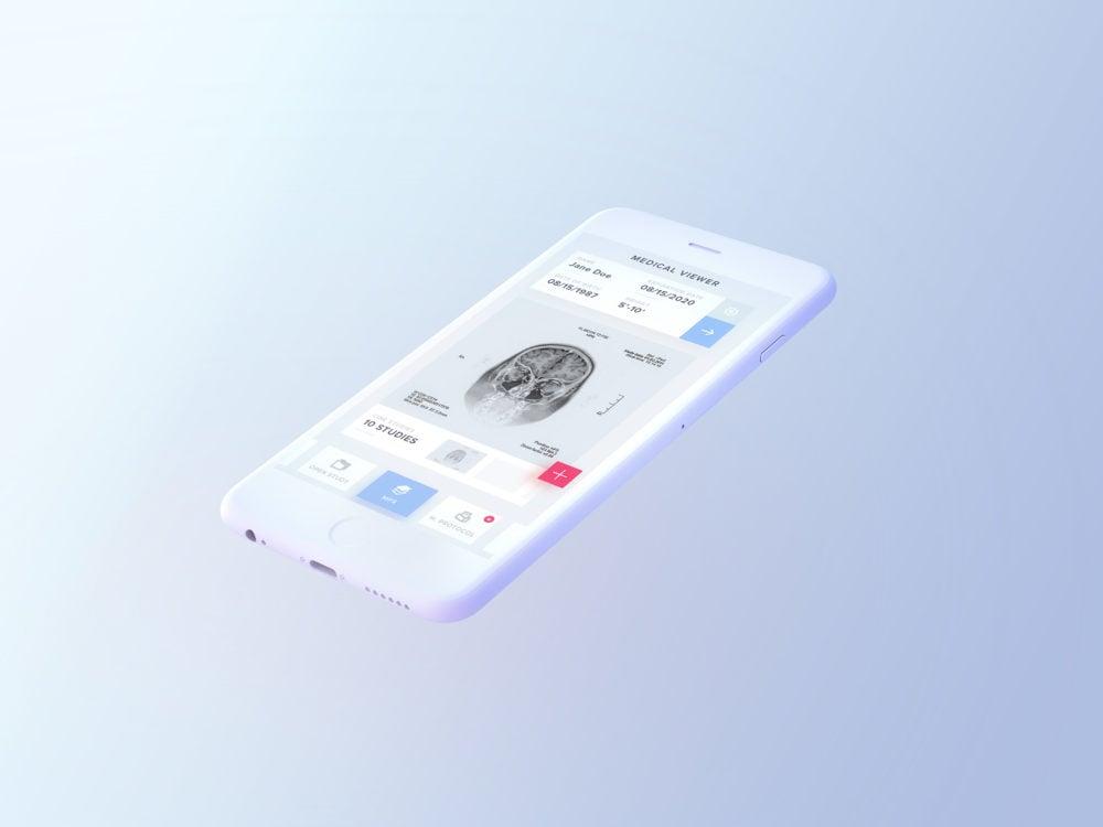 Light iPhone Mockup Free