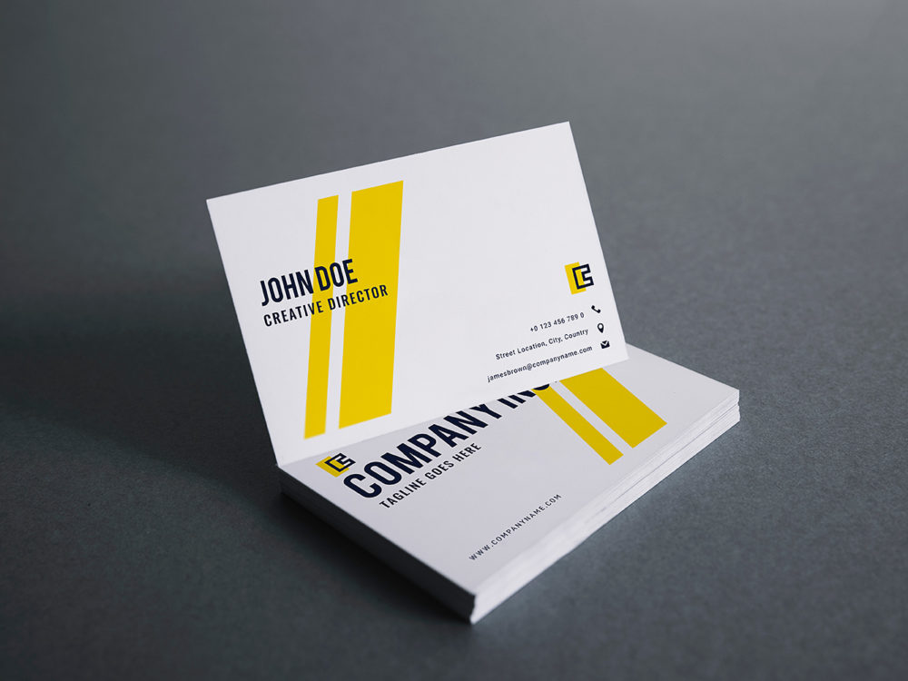 Business Card Mockup Free