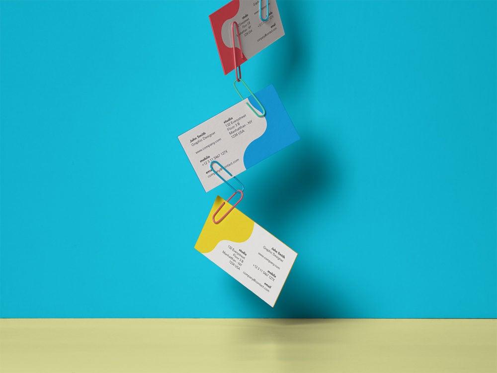 Business Card Branding Mockup Free