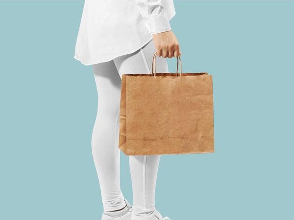 Craft Bag Mockup Free