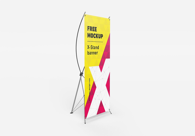 Free X Banner Mockup Psd Free Mockup