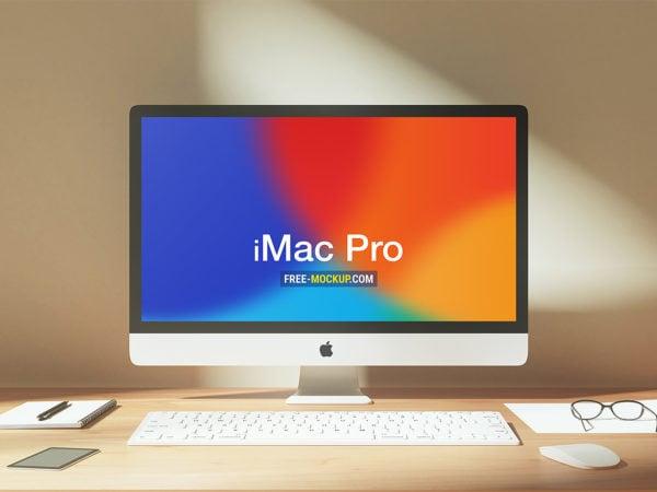 Workspace iMac Pro Mockup