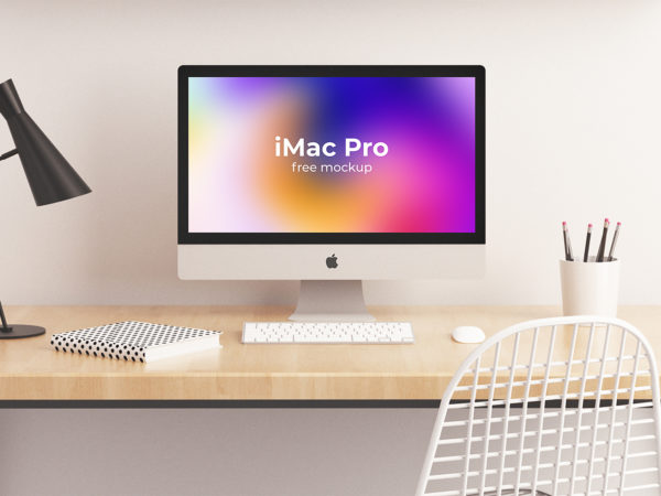 iMac Pro Mockup Free