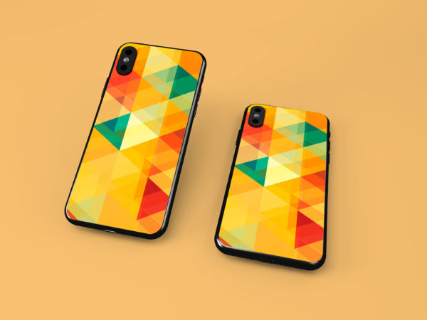 iPhone Case Mockup Free PSD