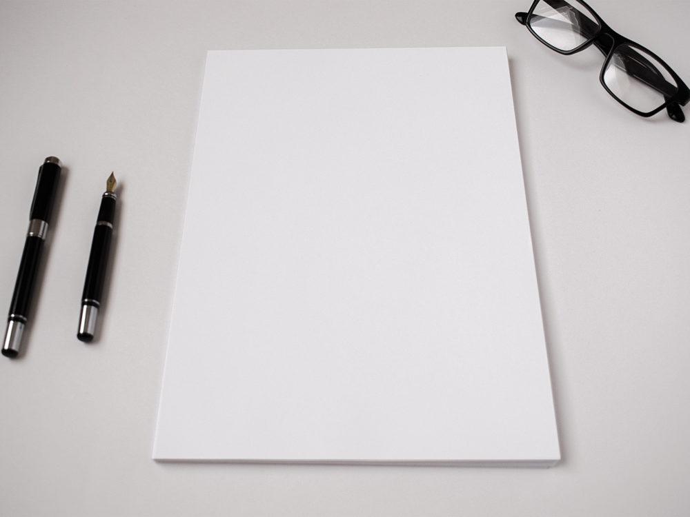 A4 Paper Letterhead Mockup Free