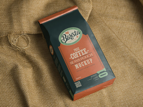 Classic Coffee Bag Mockup