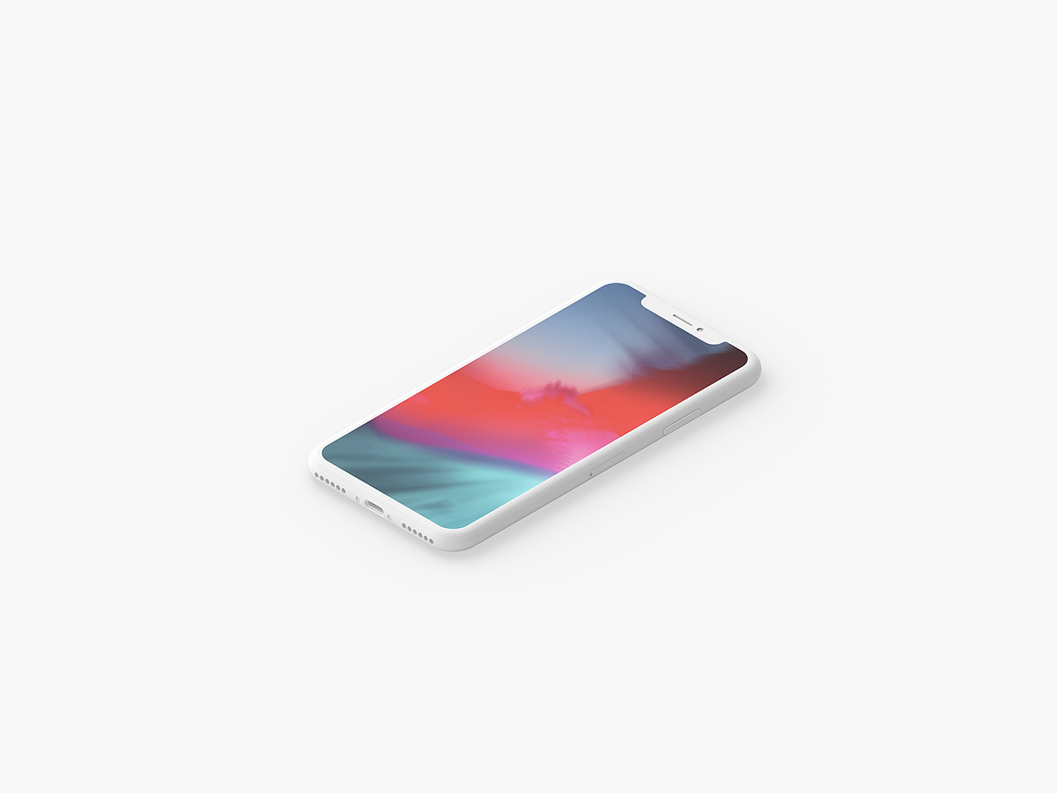 Clay-iPhone-X-Presentation-Mockup-01