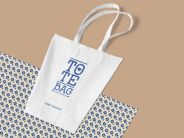 Cotton Bag Free Mockup