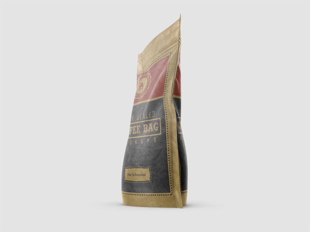 Free Coffee Bag Mockups
