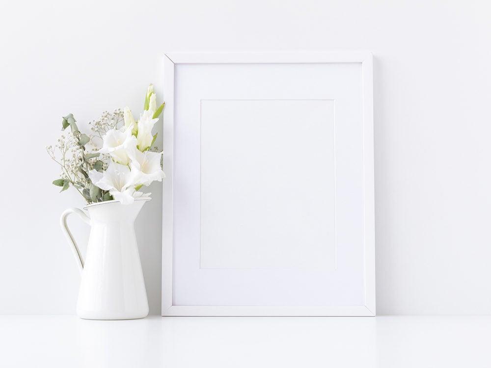 Free wall and frame mockups