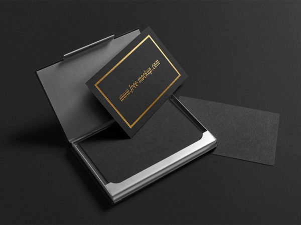 Premium Business Cards Mockup