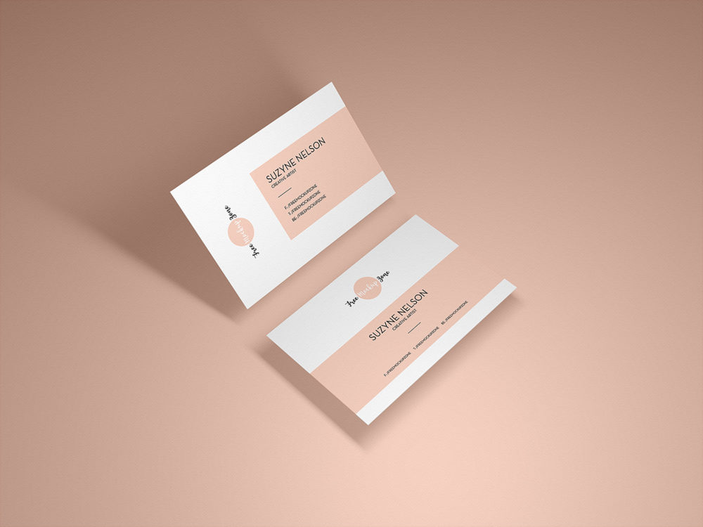 Presentation Business Card Mockup