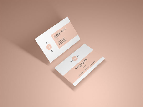 Presentation Business Card Mockup