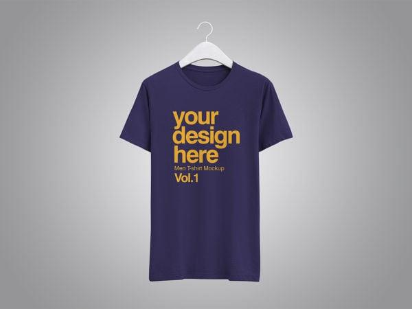 Realistic T-Shirt Free Mockup