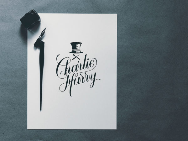 Typography Logo Free Mockup