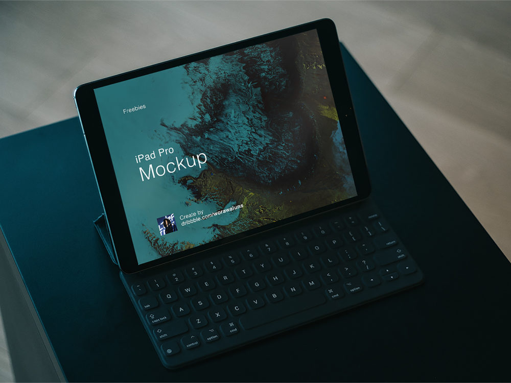 iPad Pro Sketch and PSD mockup