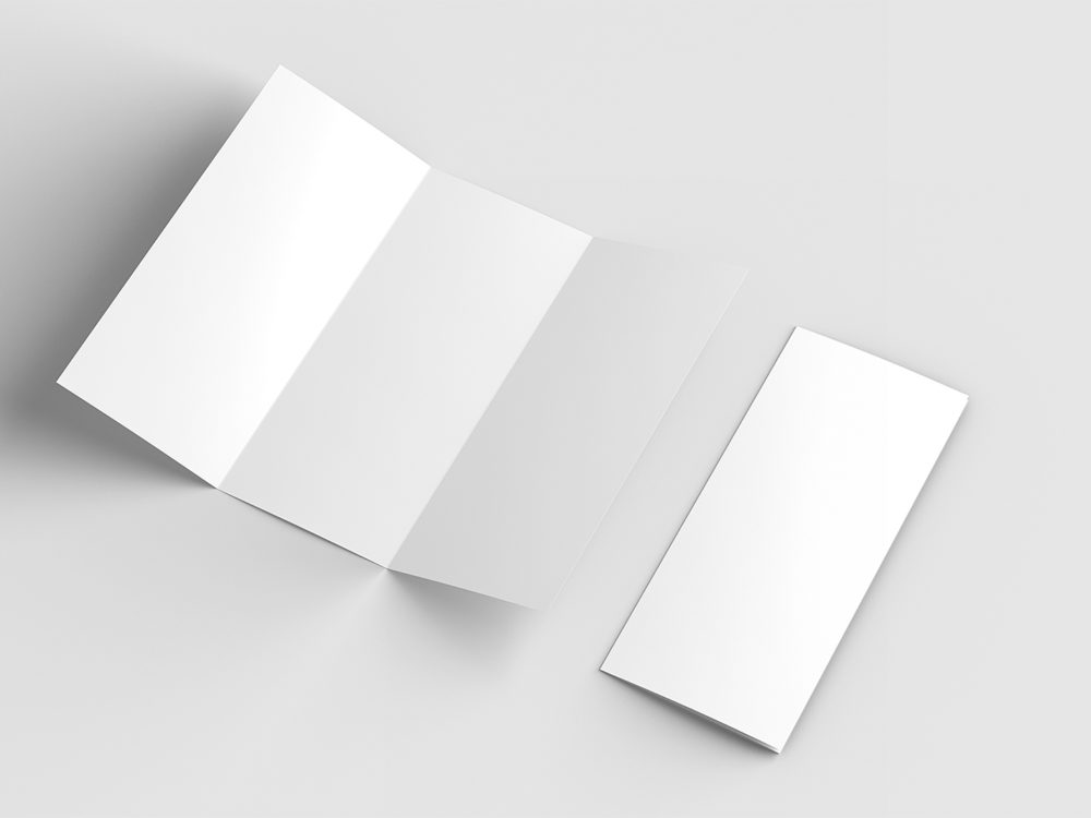 Free Letter Trifold Mock-Up