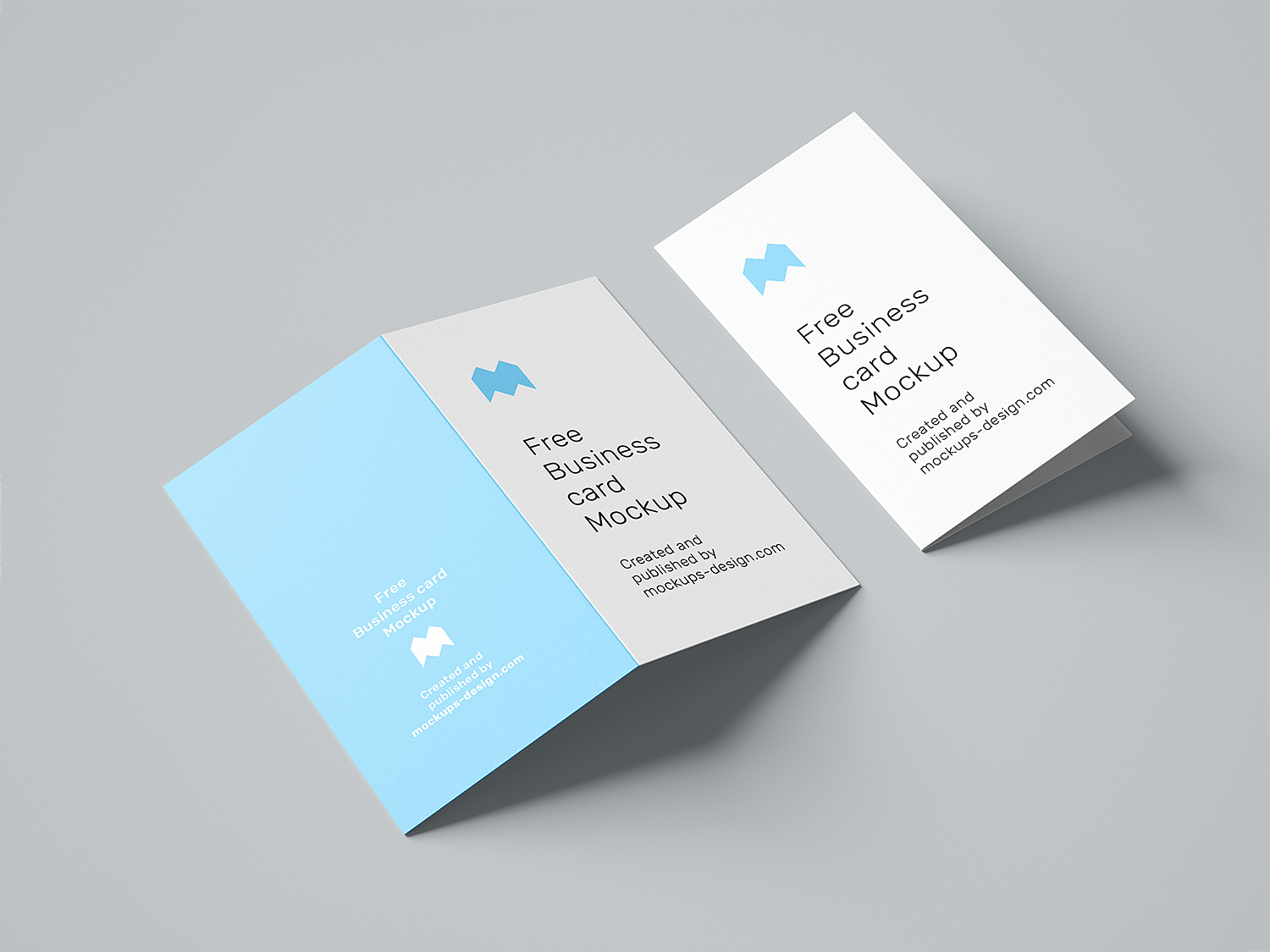 Free Folded Card Template from www.free-mockup.com