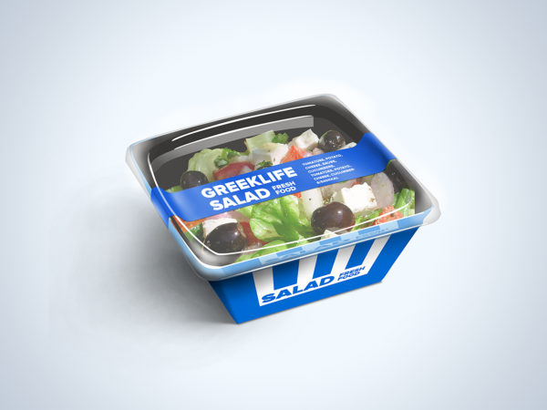 Food Container Free Mockup