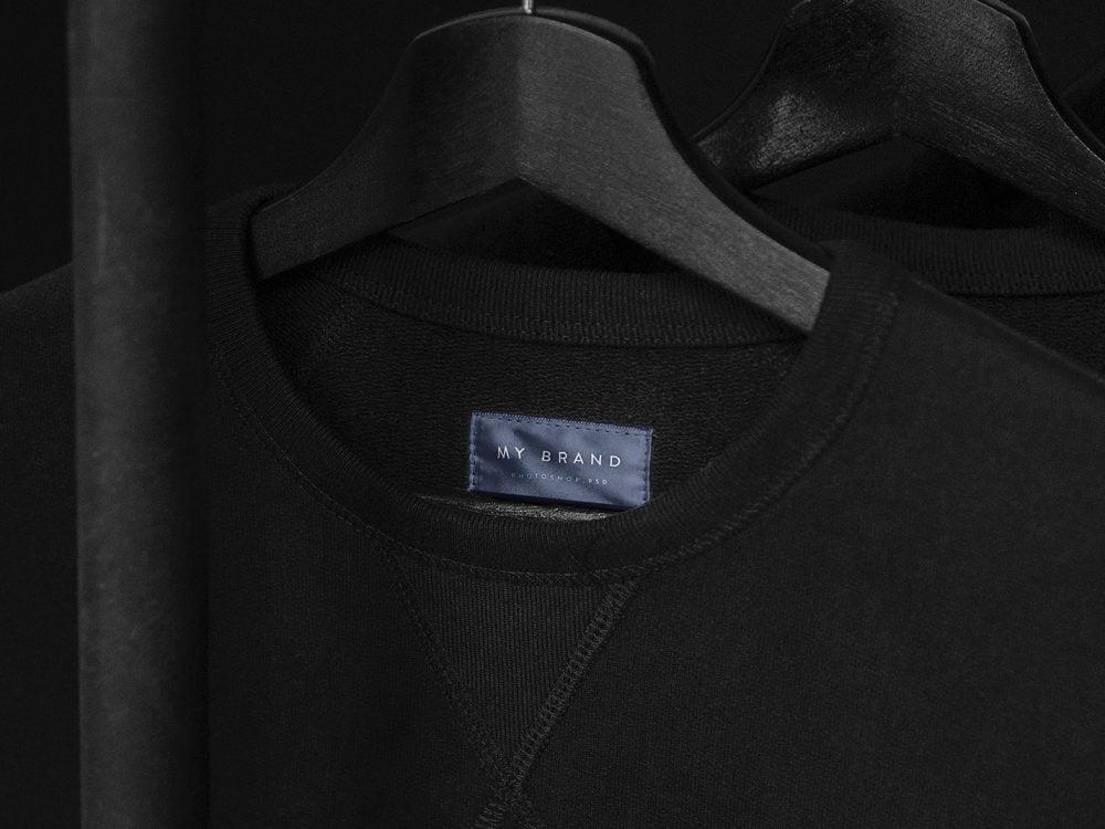 Clothing Label Mockup Free Free Mockup