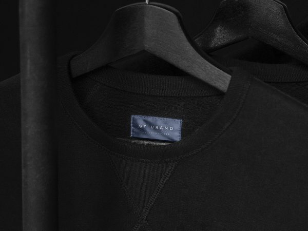 Clothing Label Mockup Free