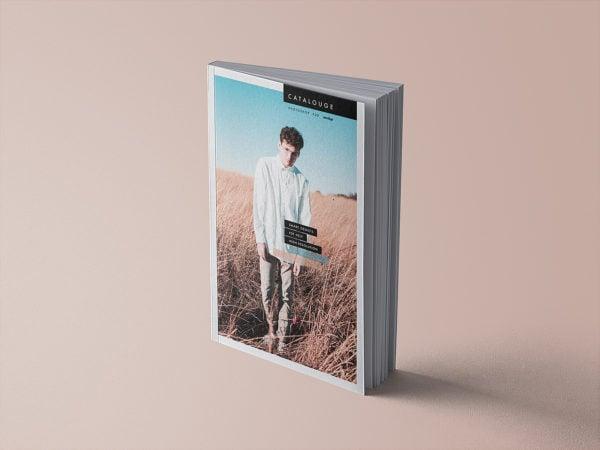 Free Catalog Book Mockup