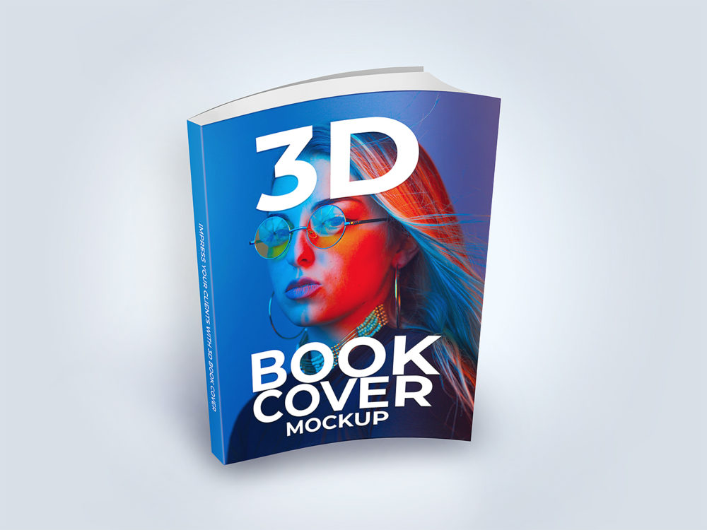 Softcover Book Mockup Free