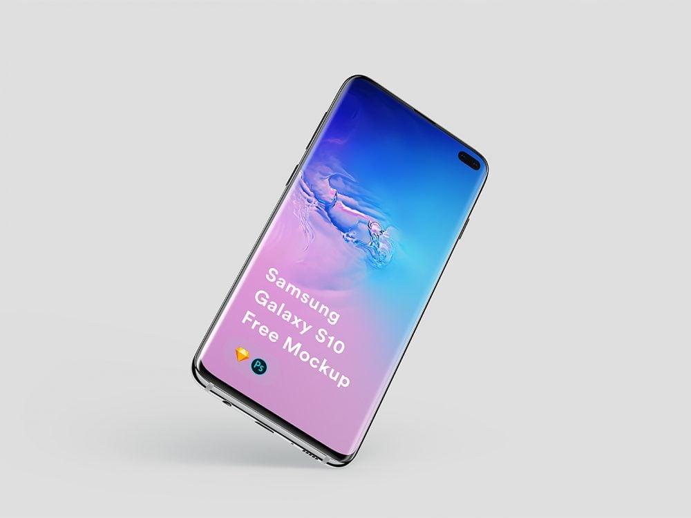 Free Samsung Galaxy S10 Plus Mockup