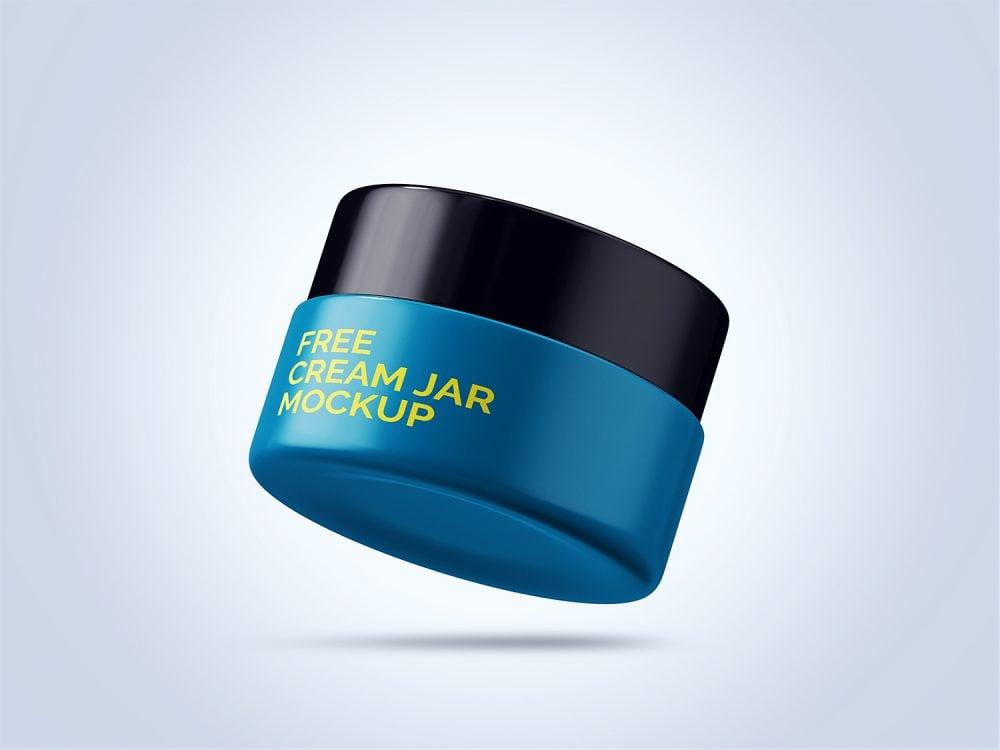 Cream Jar Mockup Free Sample