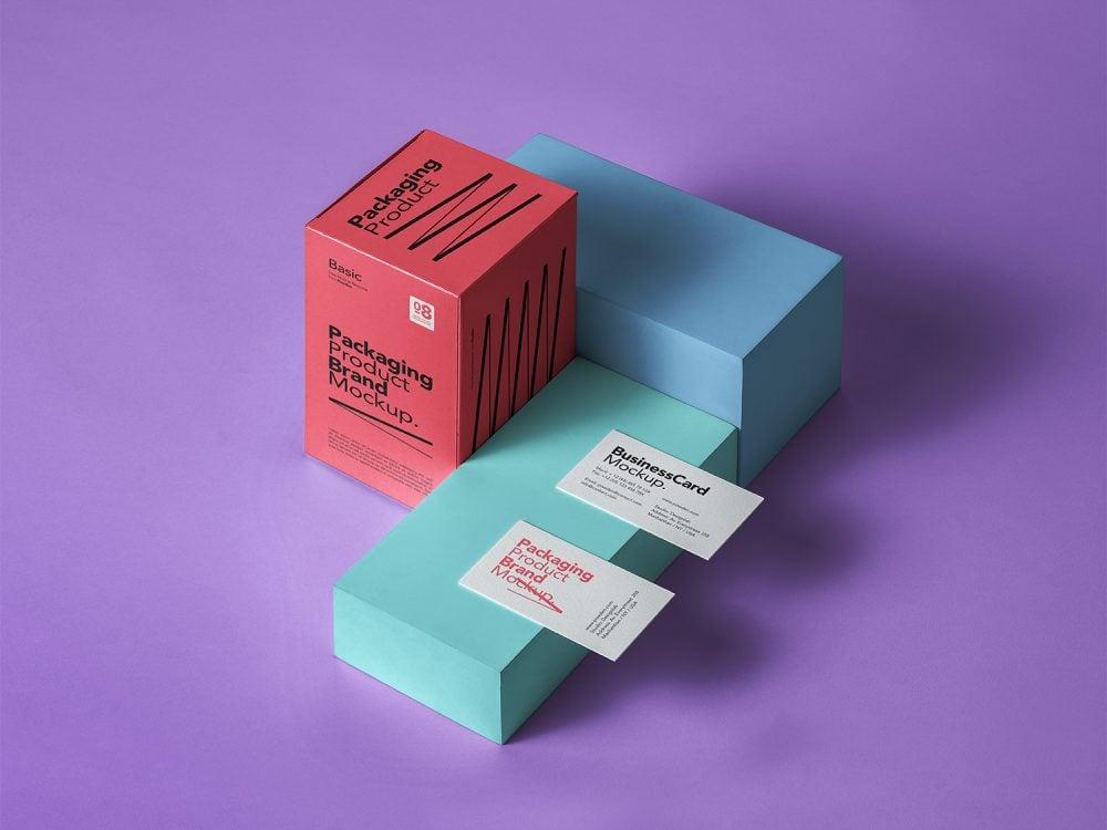 Free Basic Product Packaging Mockup