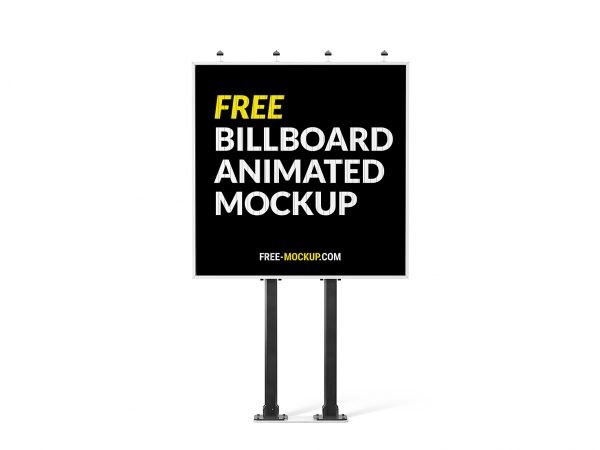 Outdoor Ad | Free Mockup