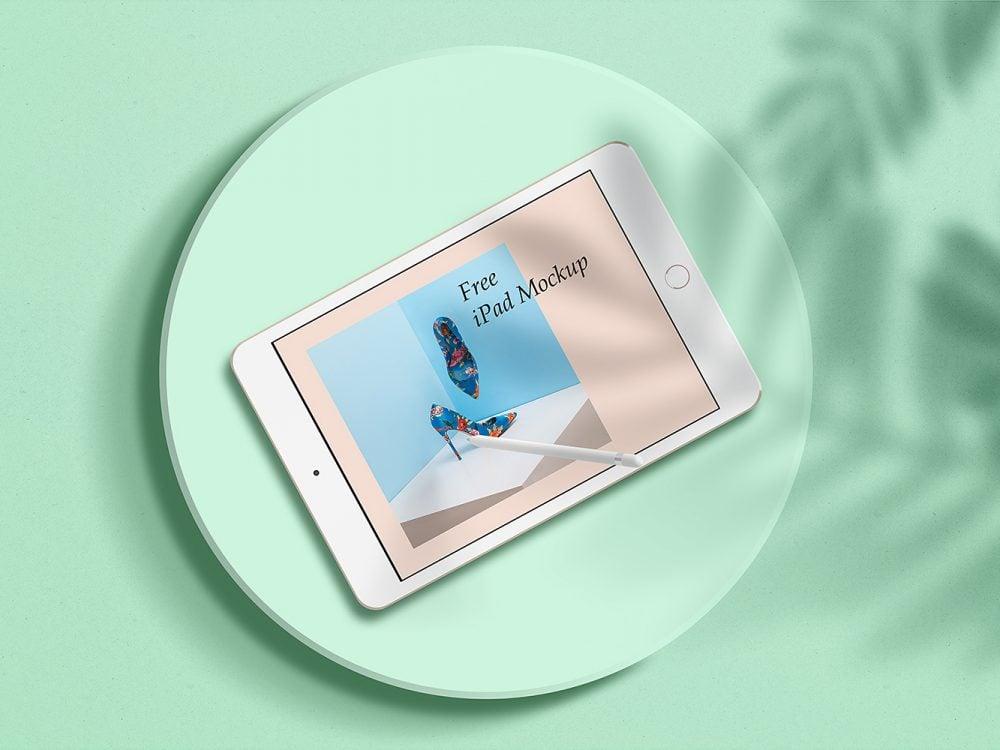 Free Minimal iPad Mockup