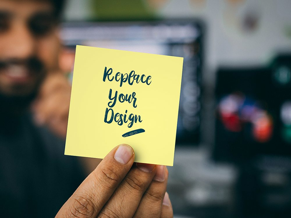 Free Stickies Mockup