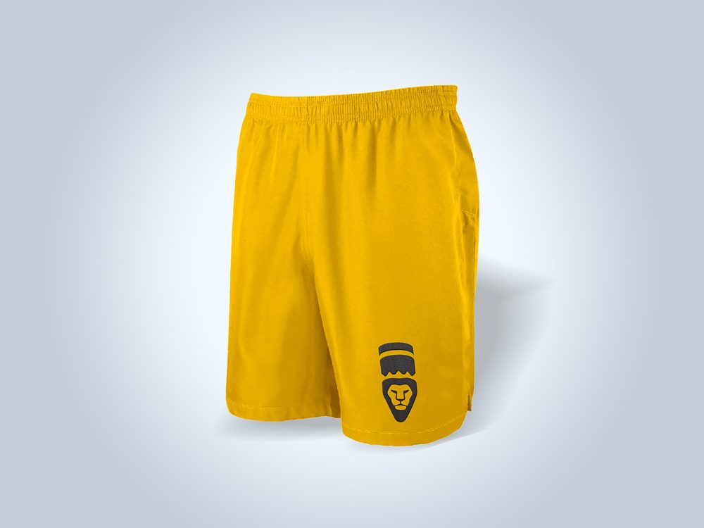 Free Training Shorts Mockup