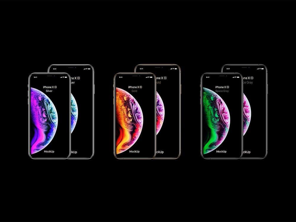 iPhone XS Max Mockup Free