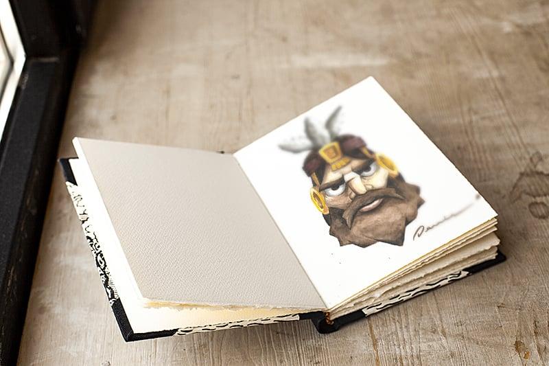 Free Sketchbook Realistic Mockup