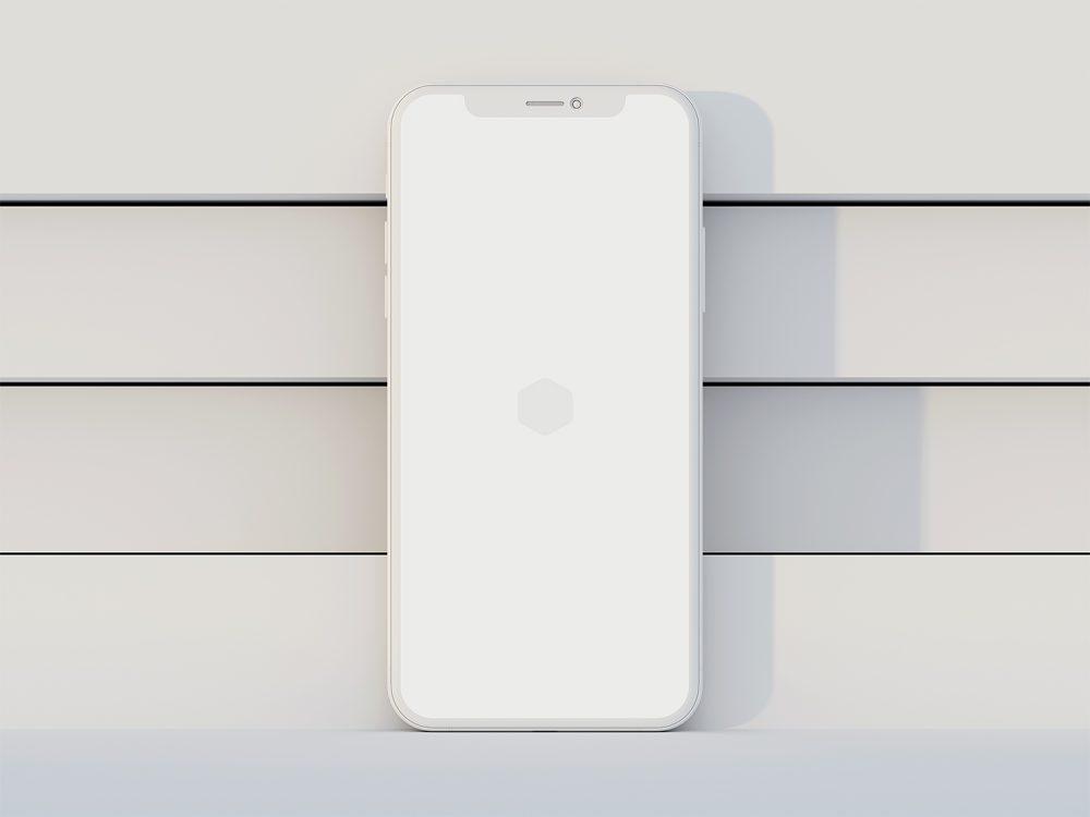 Free iPhone X Clay Mockups